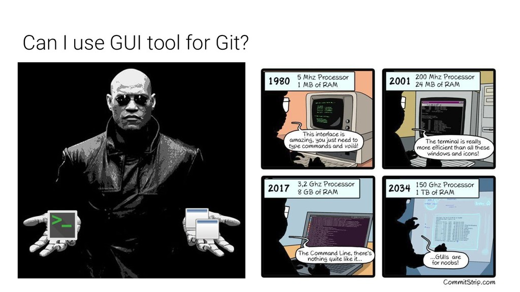 Can I use GUI tool for Git?