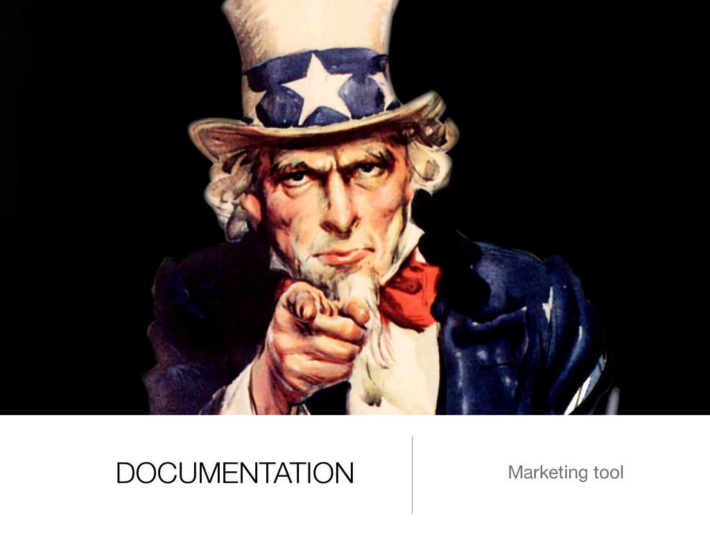 DOCUMENTATION Marketing tool