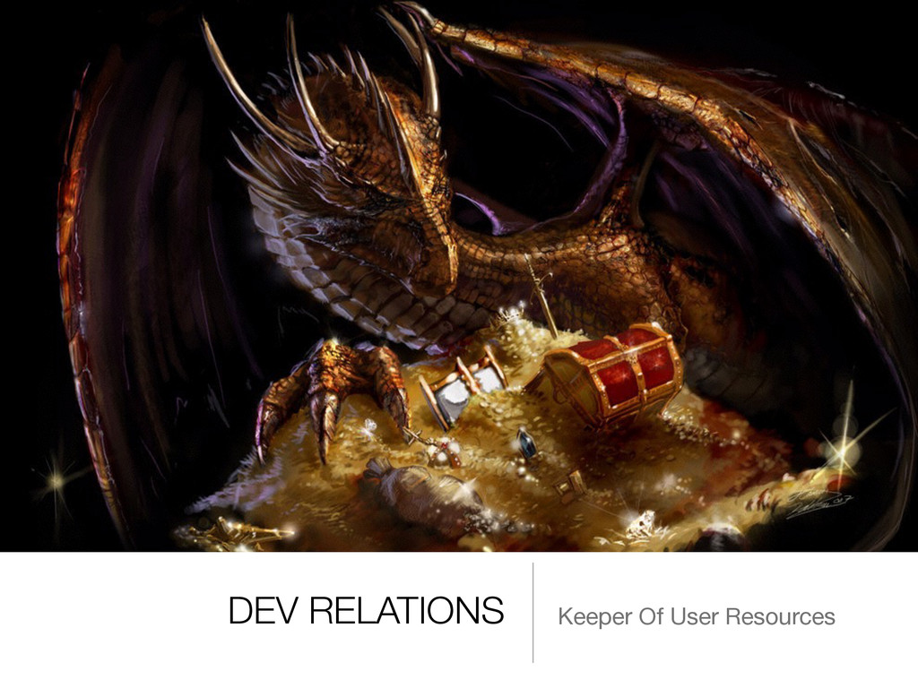 DEV RELATIONS Keeper Of User Resources