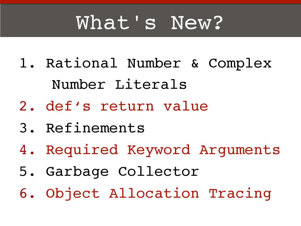 What's New?! 1.  Rational Number & Complex ! Nu...