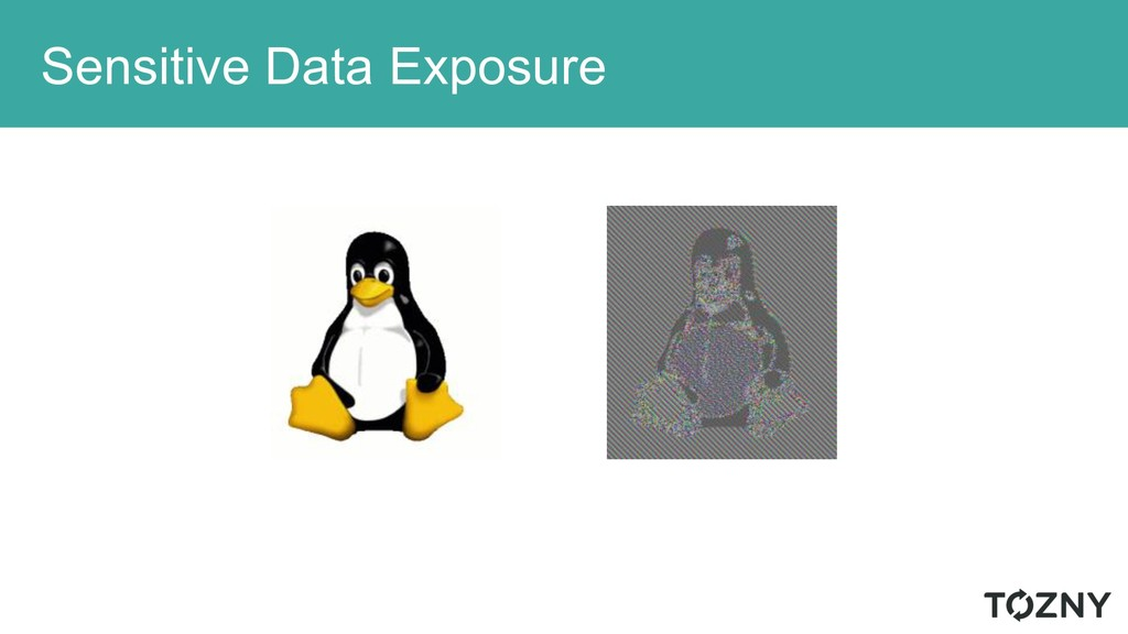 Sensitive Data Exposure