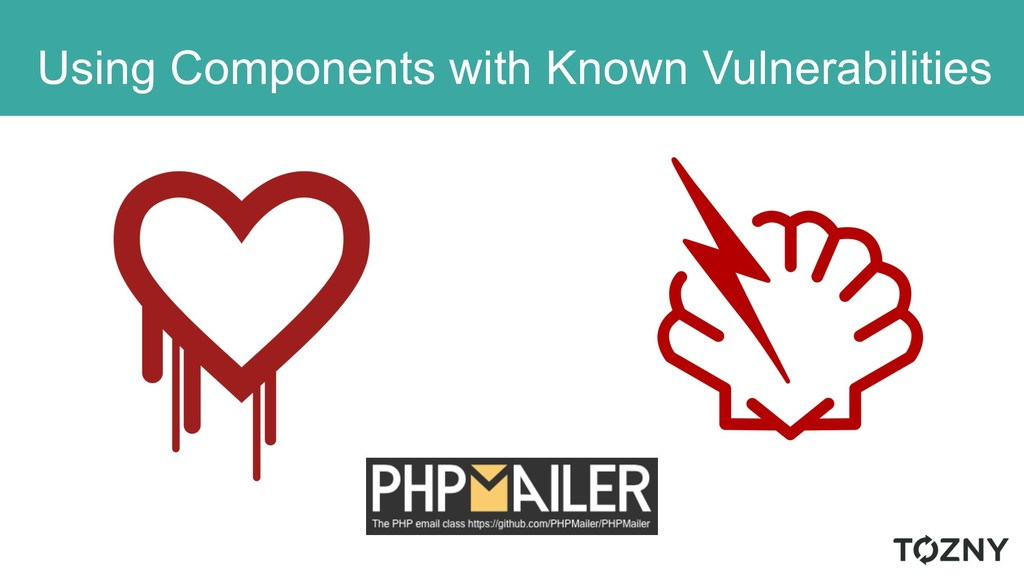 Using Components with Known Vulnerabilities