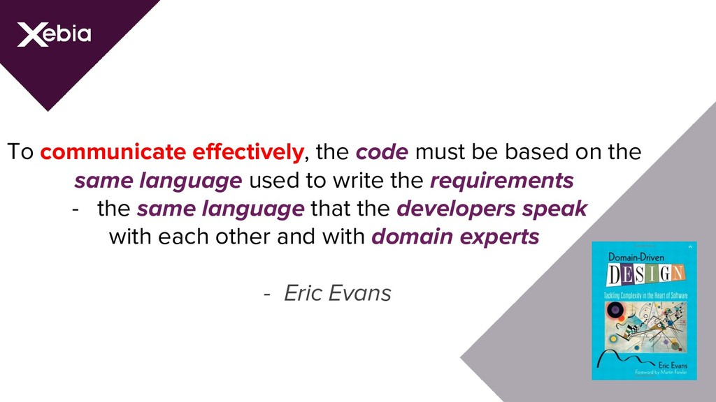To communicate effectively, the code must be ba...