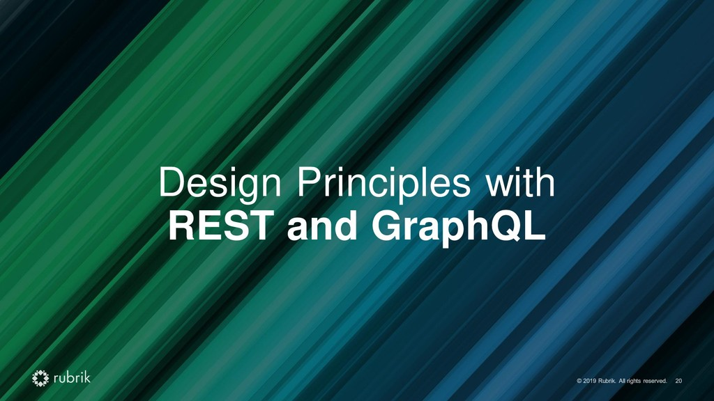 Design Principles with REST and GraphQL