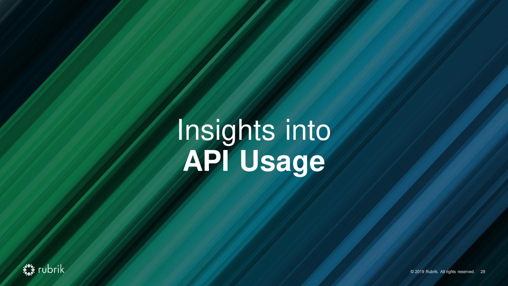 Insights into API Usage