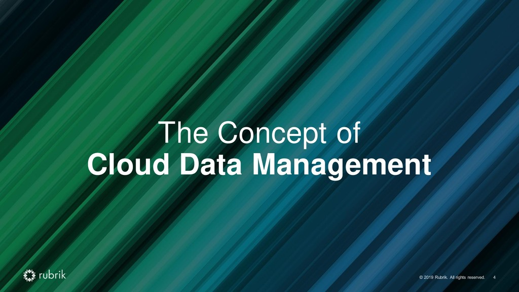 The Concept of Cloud Data Management