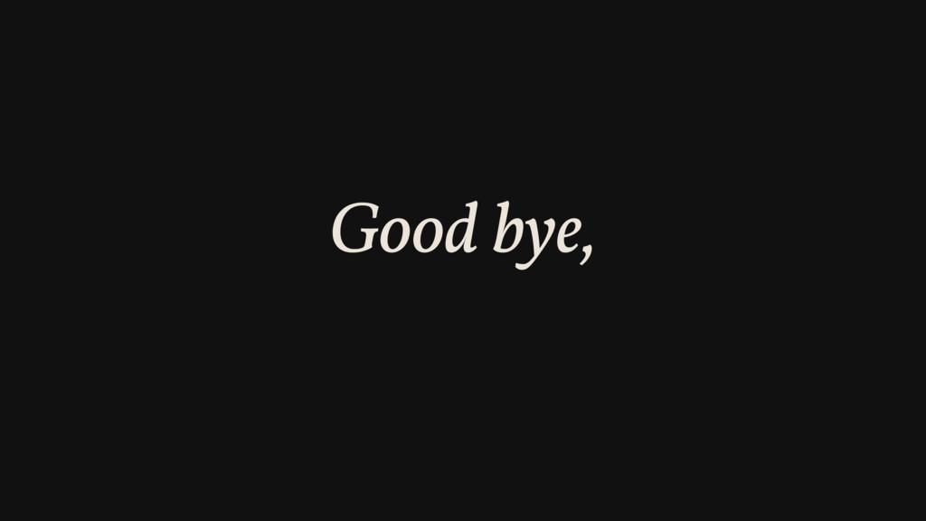 Good bye, wp_localize_script()