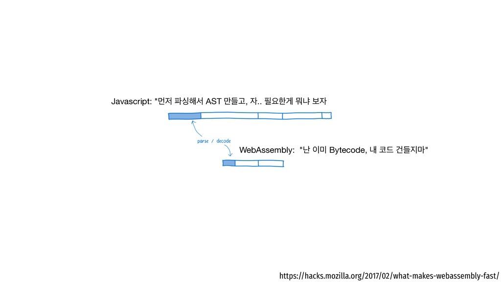 "WebAssembly: ""դ  Bytecode, ղ ٘ Ѥٜ݃"" Javascr..."