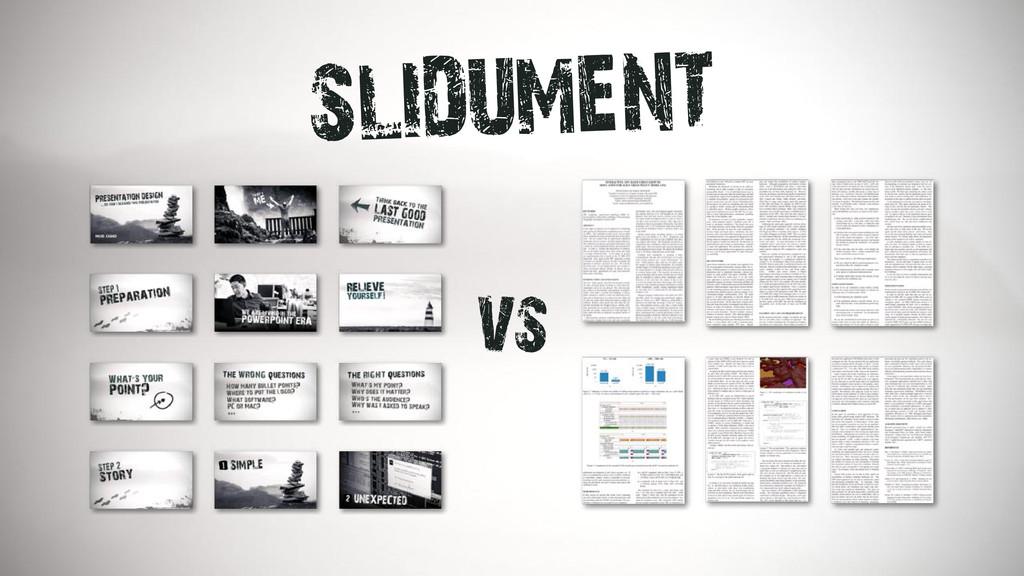 SLIDUMENT vs