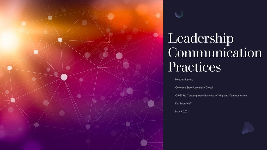Leadership Communication Practices