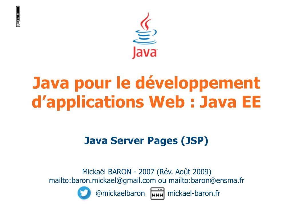 Java pour le développement d'applications Web :...