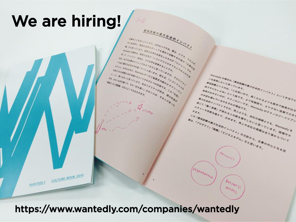 We are hiring! https://www.wantedly.com/compani...