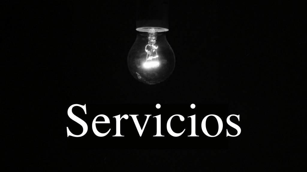 @nandogonzalez Servicios
