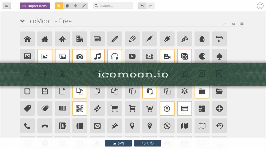 icomoon.io