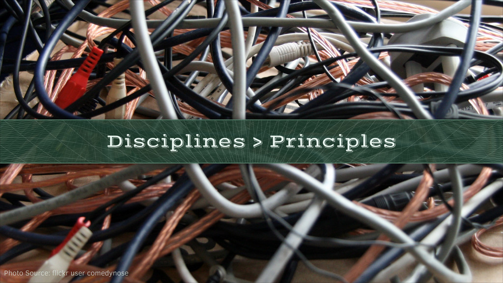 Disciplines > Principles Photo Source: flickr us...