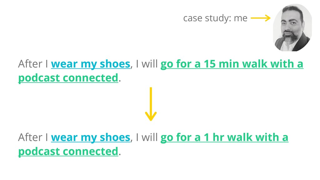 After I wear my shoes, I will go for a 15 min w...