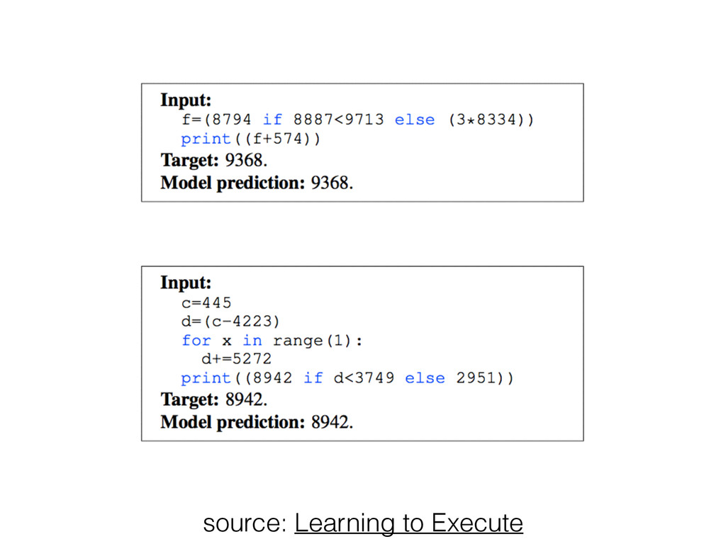 source: Learning to Execute