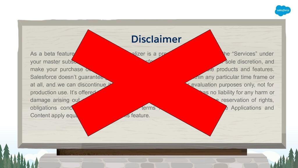Disclaimer As a beta feature, Apex Transaction ...