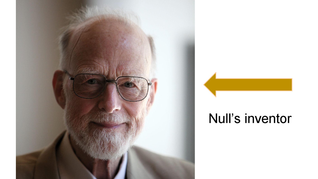 Null's inventor