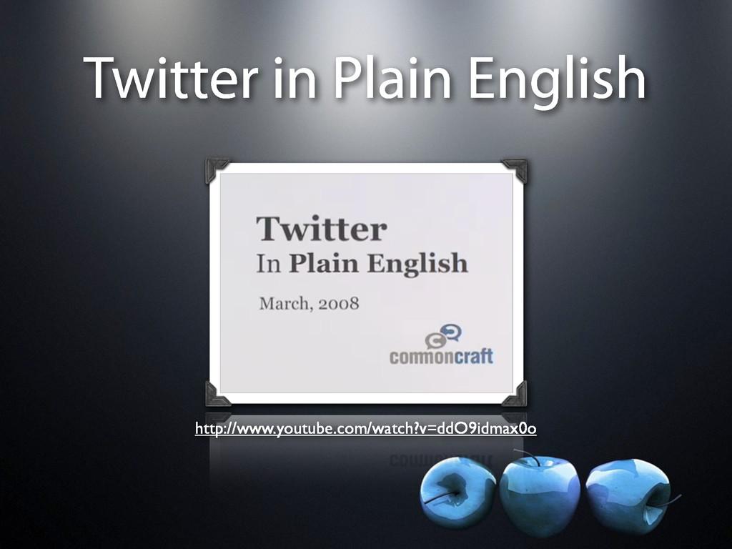 Twitter in Plain English http://www.youtube.com...