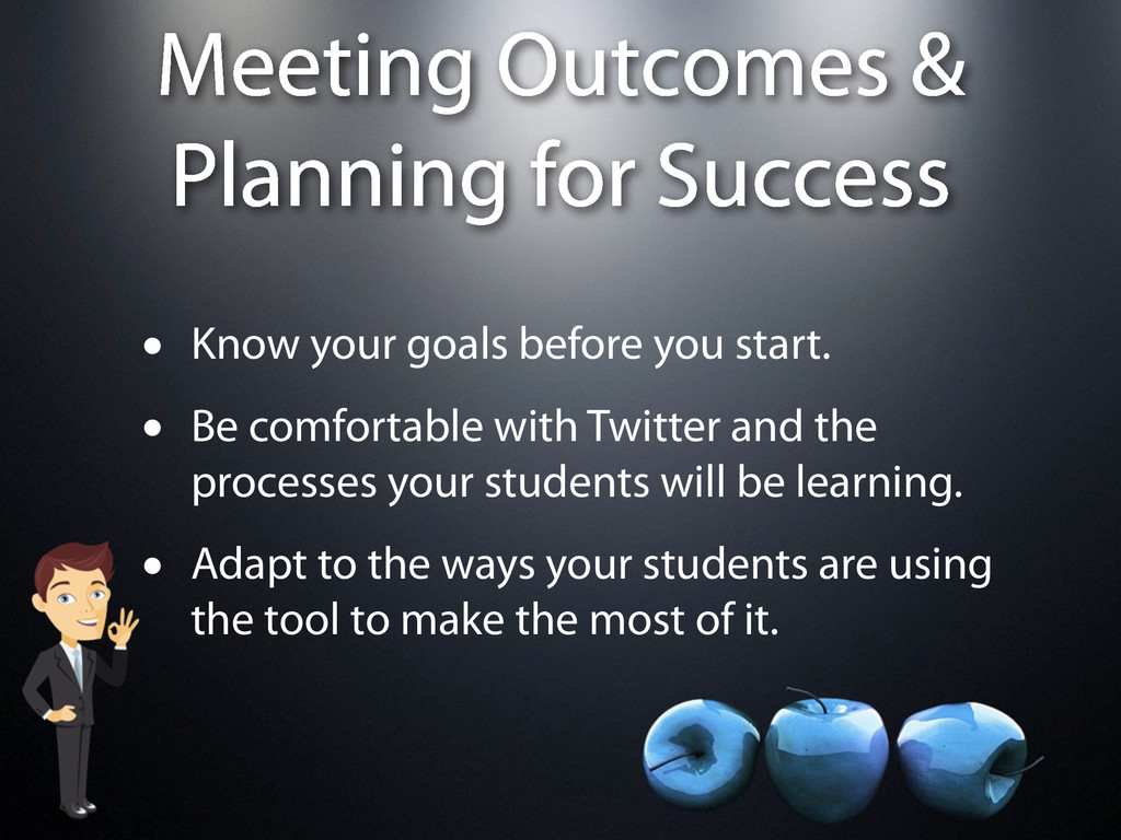 Meeting Outcomes & Planning for Success • Know ...