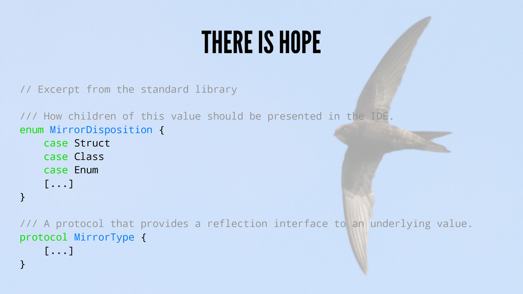 THERE IS HOPE // Excerpt from the standard libr...