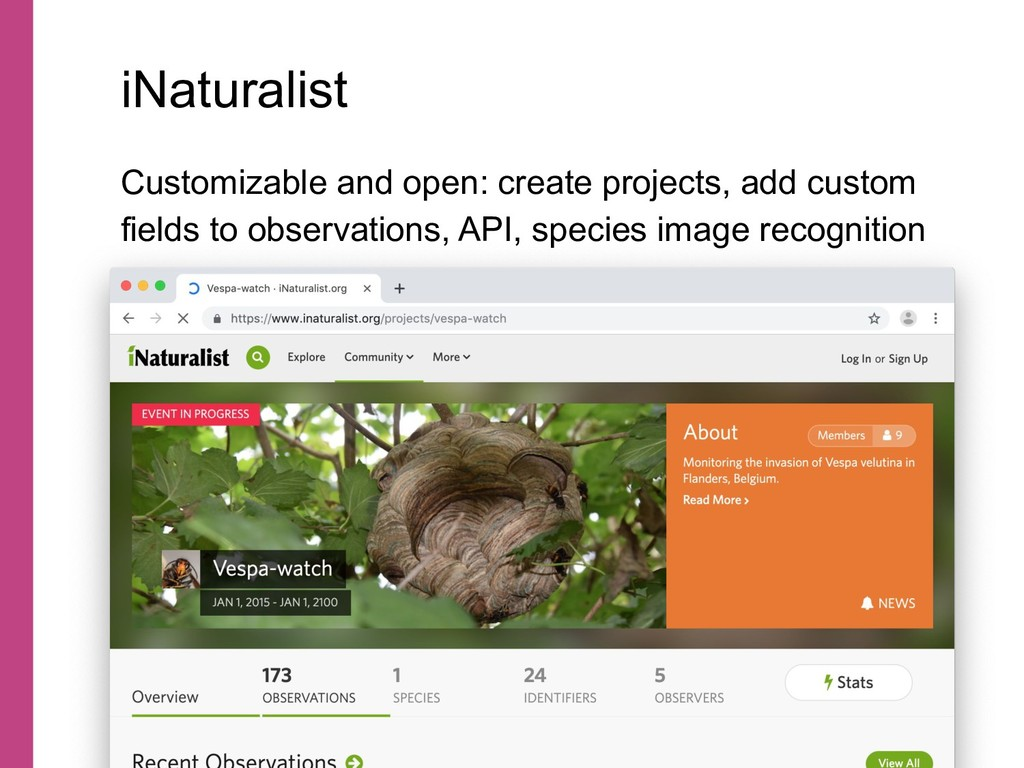 Customizable and open: create projects, add cus...