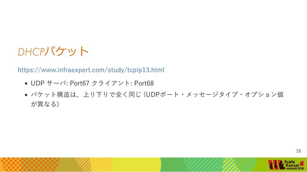 DHCP パケット https://www.infraexpert.com/study/tcp...