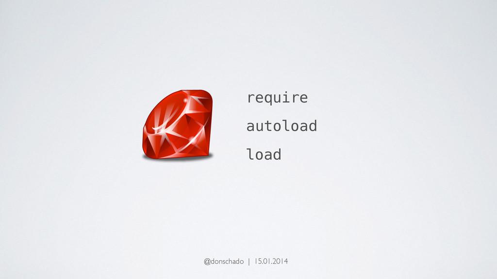 require autoload load @donschado | 15.01.2014