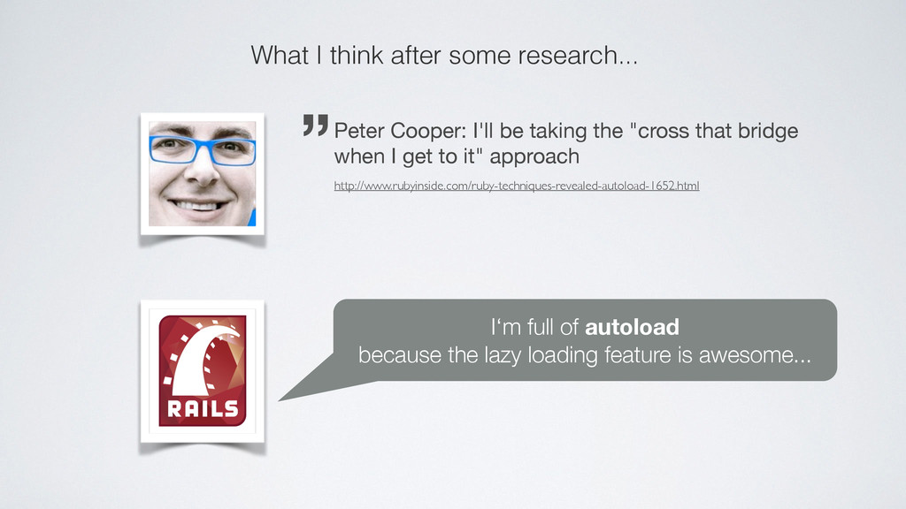"""""""Peter Cooper: I'll be taking the """"cross that b..."""