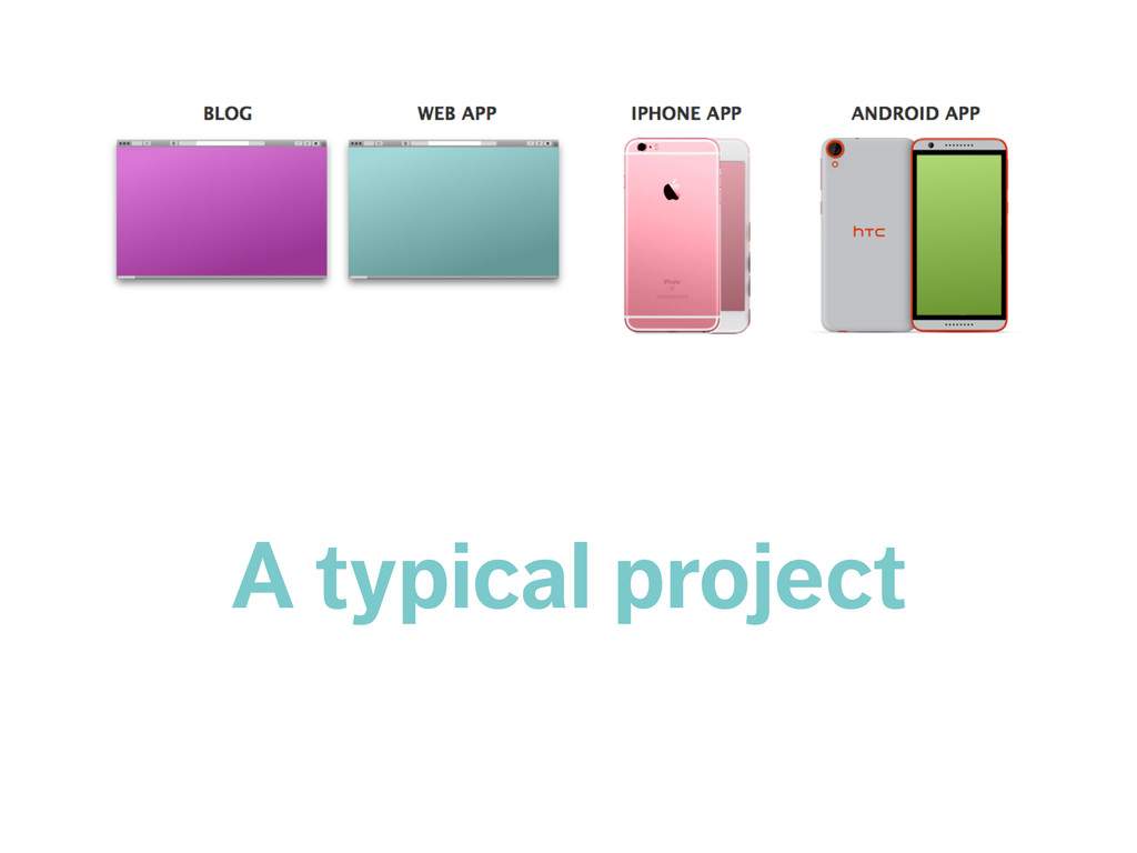 A typical project