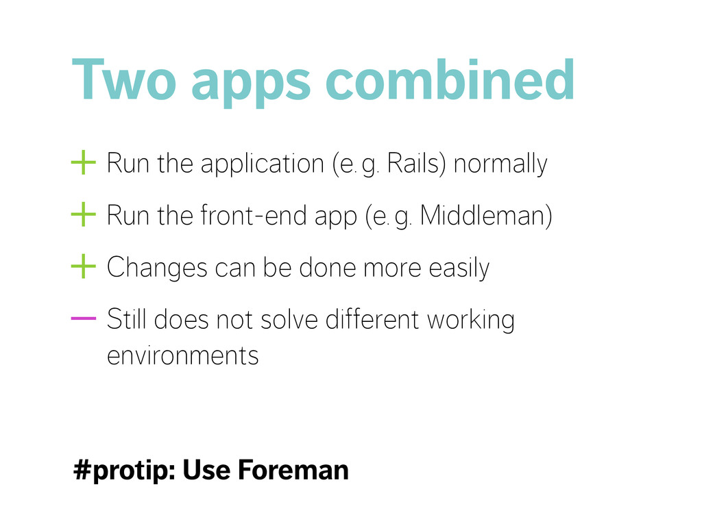 Two apps combined +Run the application (e.g. R...