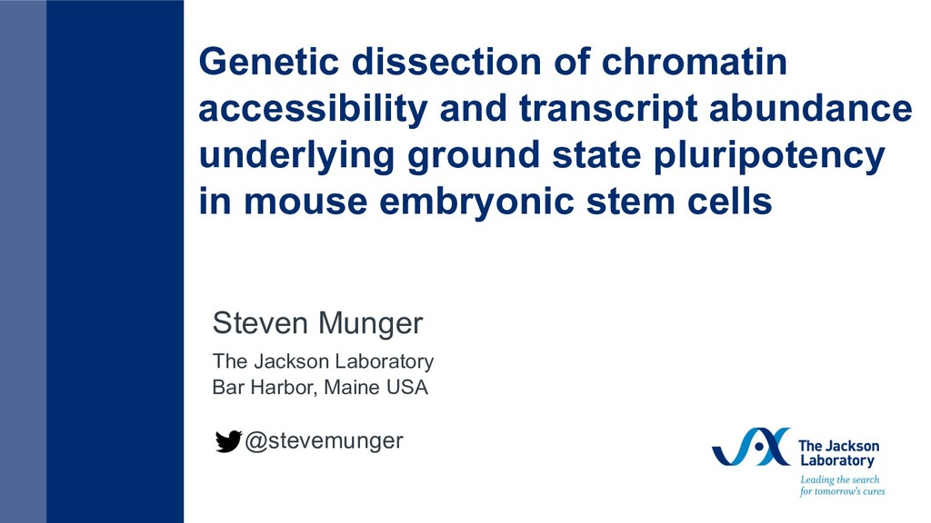 Genetic dissection of chromatin accessibility a...