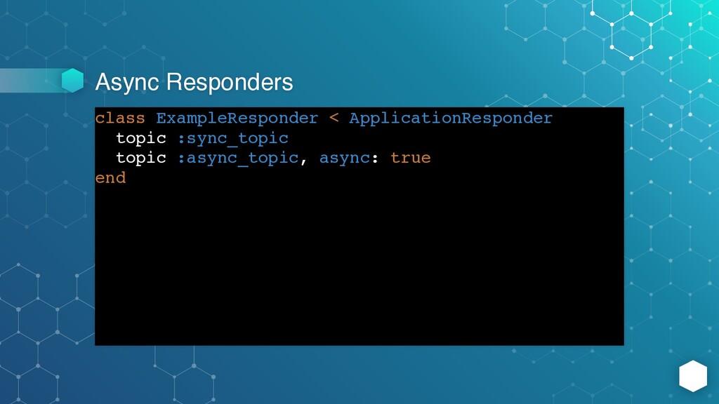 Async Responders class ExampleResponder < Appli...