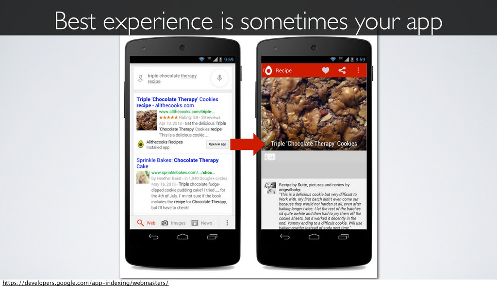 Best experience is sometimes your app https://d...