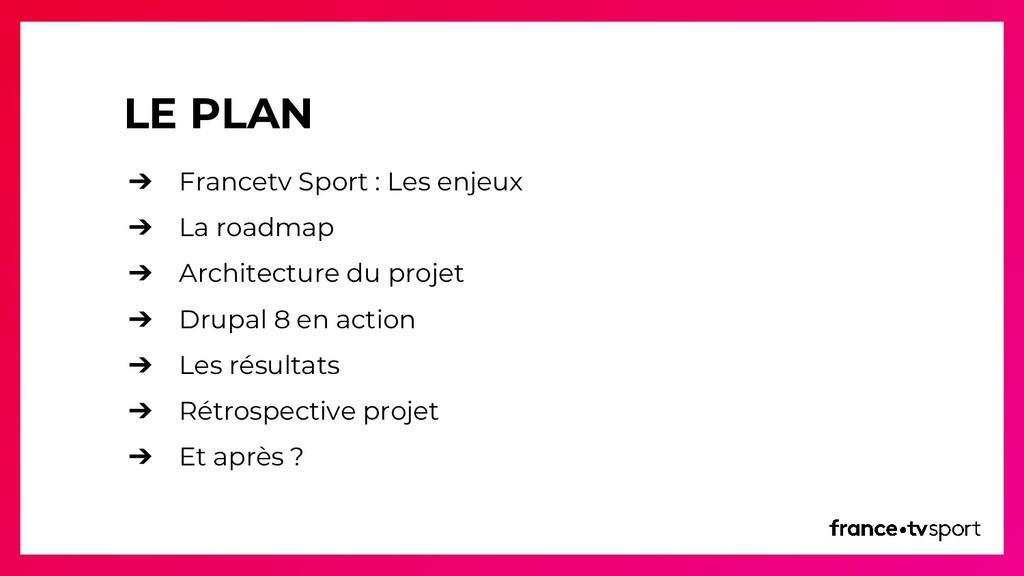 LE PLAN ➔ Francetv Sport : Les enjeux ➔ La road...