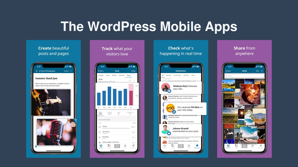 The WordPress Mobile Apps
