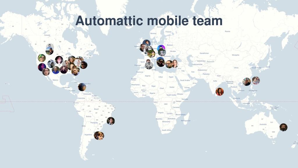 Automattic mobile team