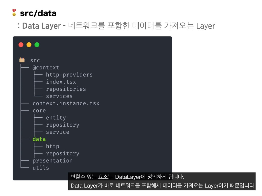 TSDEBUB : Data Layer - 네트워크를 포함한 데이터를 가져오는 La...