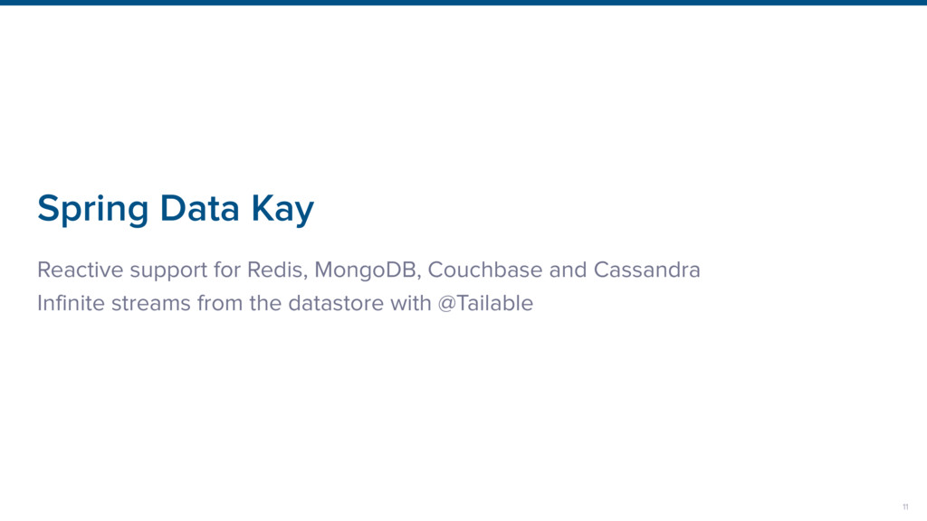 Spring Data Kay Reactive support for Redis, Mon...