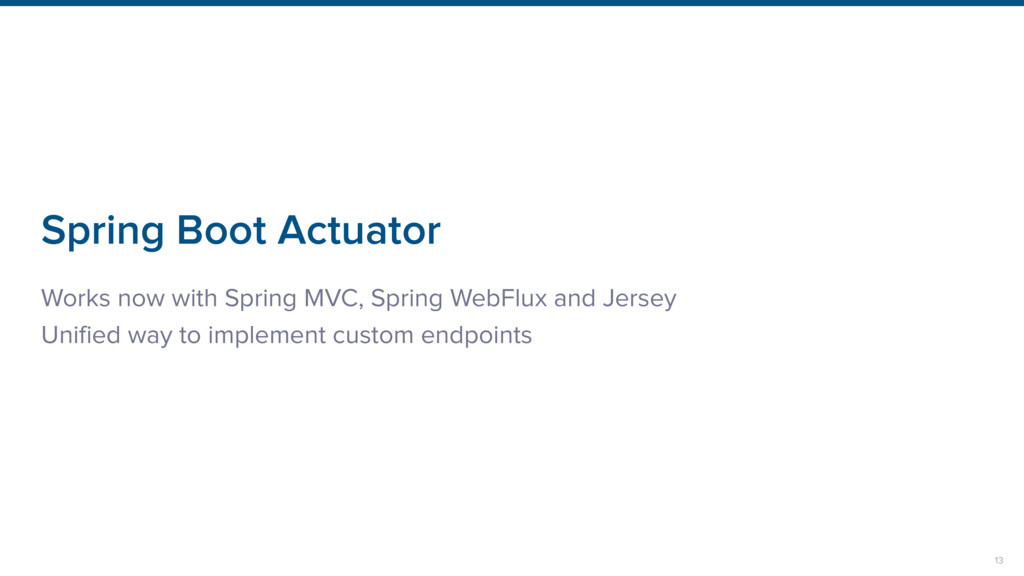 Spring Boot Actuator Works now with Spring MVC,...