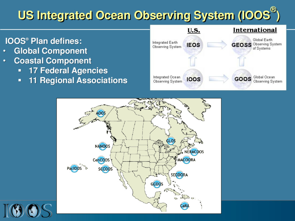 US Integrated Ocean Observing System (IOOS® ) I...