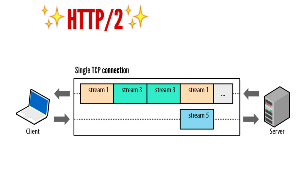✨HTTP/2✨ Single TCP connection