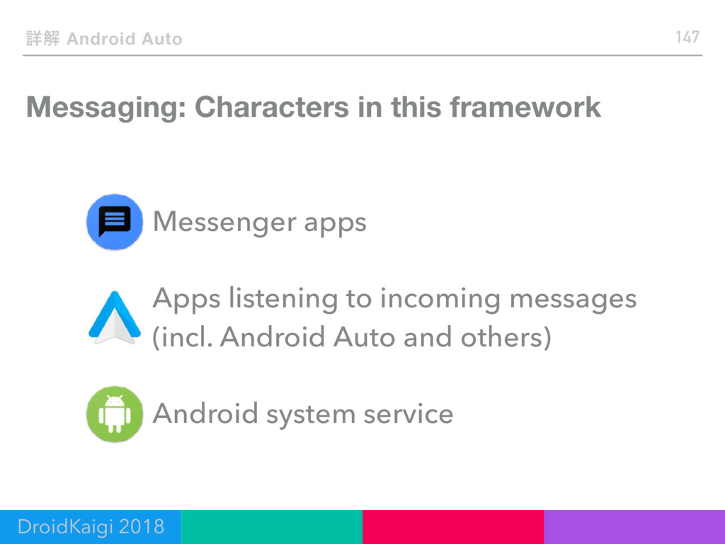 Messaging: Characters in this framework 147 ৄղ ...