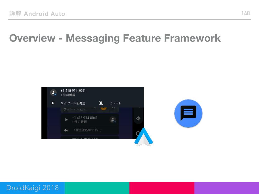Overview - Messaging Feature Framework 148 ৄղ A...