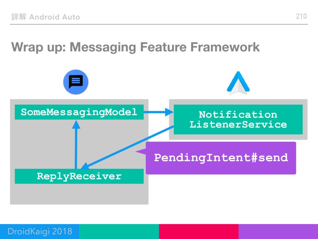 ৄղ Android Auto Wrap up: Messaging Feature Fram...