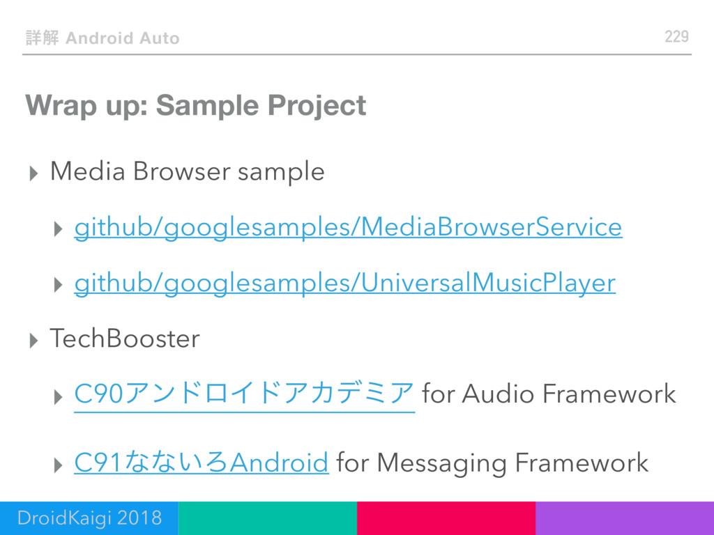 Wrap up: Sample Project ▸ Media Browser sample ...