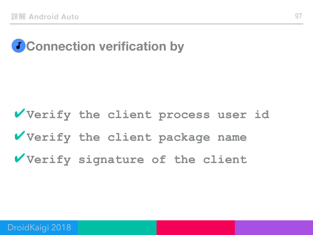 Connection verification by 97 ৄղ Android Auto ✔V...