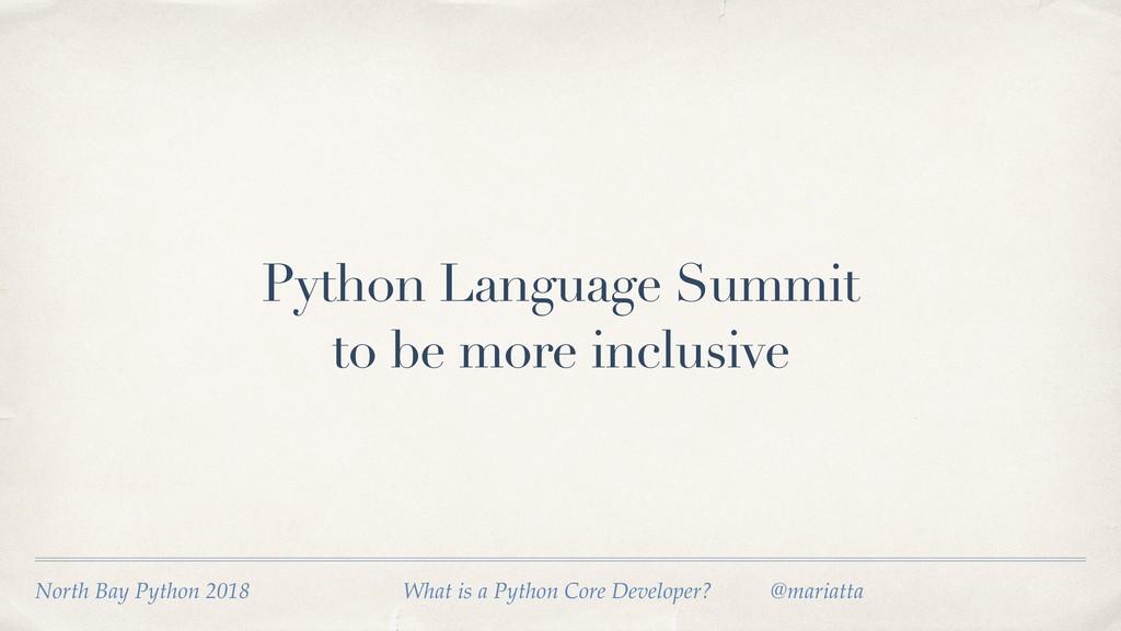 North Bay Python 2018 What is a Python Core De...