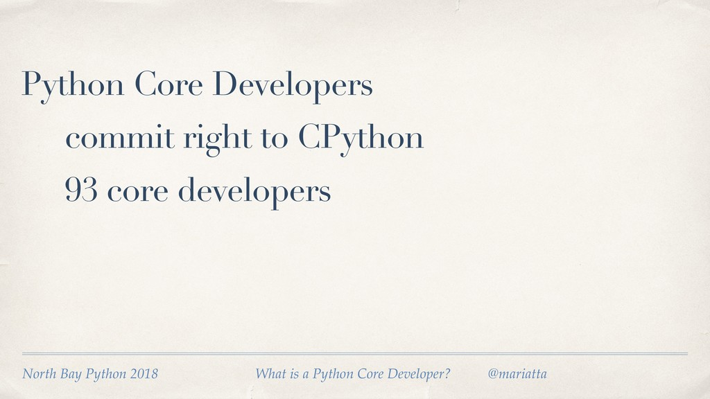 Python Core Developers commit right to CPython ...